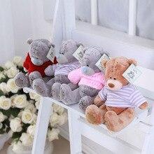 """5 шт./партия, плюшевые игрушки """"медведи"""", мягкие куклы на день рождения, День святого Валентина для детей, рождественский подарок"""