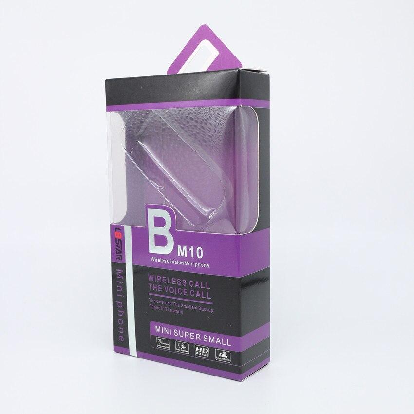 5 pièces L8star BM10 bluetooth sans fil Dialer mini téléphone BM 10 avec Écouteurs Main-livraison Casque VS BM70 BM50