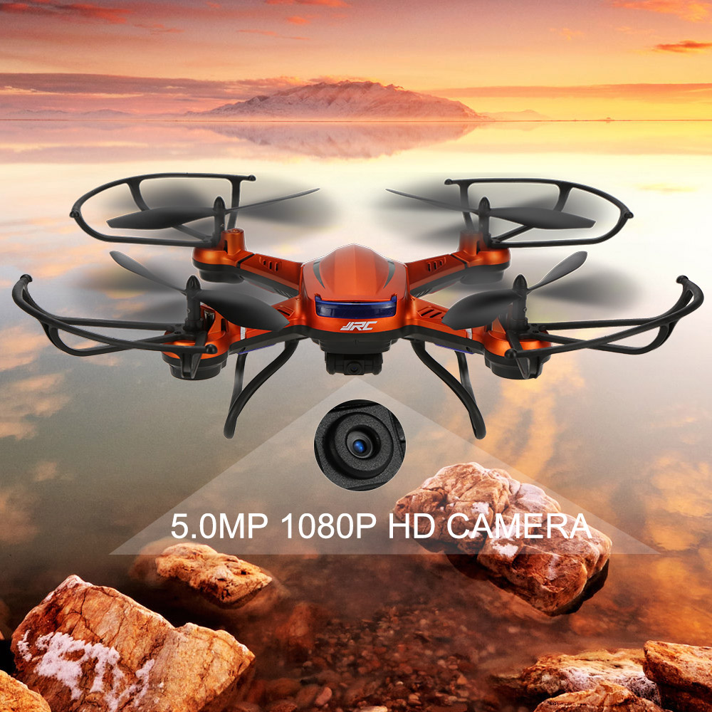 Original JJRC H12CH 2.4G 4CH 6-axis Gyro RC Drones With 5.0MP HD Camera RTF CF Mode One-key Return Set-height Mode RC Quadcopter jxd 510g 4ch 6 axis gyro 5 8g fpv rc quadcopter drone with 2 0mp camera 2 4ghz with one key return cf mode 3d flip drone rtf