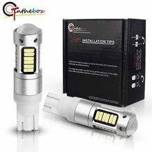 Gtinthebox T10 светодиодный ЛАМПА w5w светодиодный дневные ходовые огни 912 921 920 906 светодиодный Замена лампы для резервные фары заднего хода автомобиля 12V 6000k белый