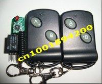 Mini ses kablosuz anahtarı Announciator/kapı kontrol sistemi Pin alıcı Kurulu ve uzaktan kumanda 12V1CH Olmayan Kalıcı/kalıcı 3A