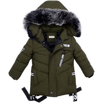 2018 chłopców mężczyźni kurtki zima mężczyźni nosić męskie dzieci nosić kurtki Odzież dziecięca płaszcze dół odzieży Baby Cloth tanie i dobre opinie Odzież wierzchnia i Płaszcze W dół Parkas Regularne Biała kaczka w dół Detachable cap 8410 Oxford Styl Europejski i amerykański