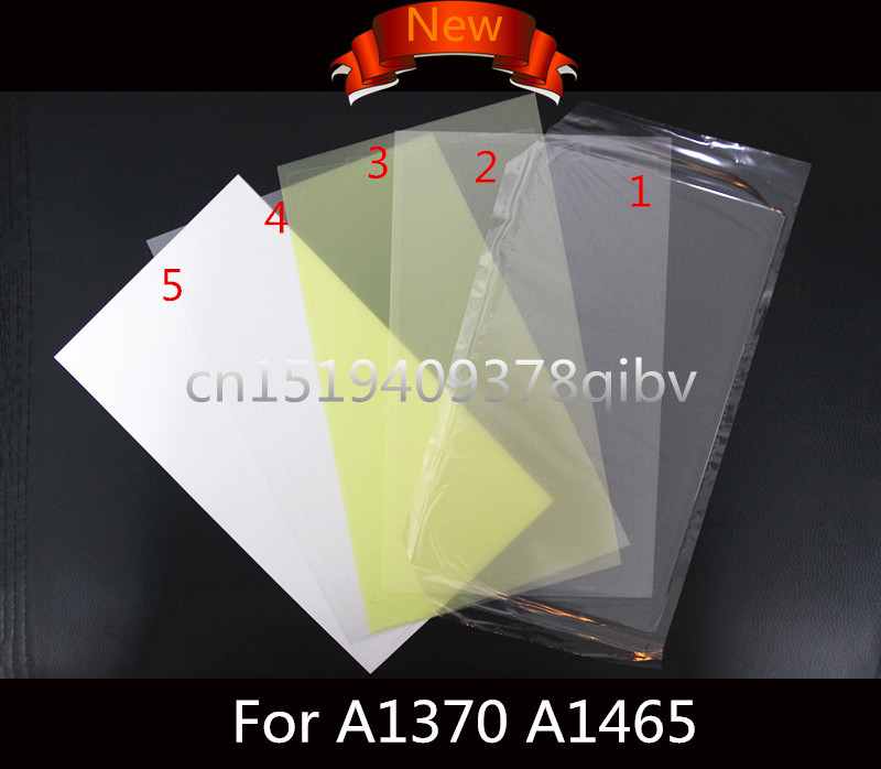 Brand New for Macbook Air 11 A1370 A1465 Air 13 A1369 A1466 LED LCD Screen Display Back Rear Reflective Sheets Backlight new lcd led screen display backlight cd screen display back rear reflective sheets 5pcs for laptop macbook air 11 6 a1370 a1465