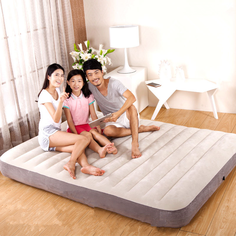 Folding Inflatable Soft Bed Mattress Cama Beach Airbed Muebles De Dormitorio Bedroom Furniture Colchon Free Shipping цена 2017