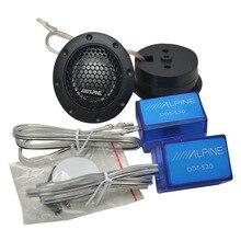 DDT-S30 Mini Dome Tweeter Car Speaker Universal High Efficiency Loudspeaker Super Power Audio Sound car tweeters