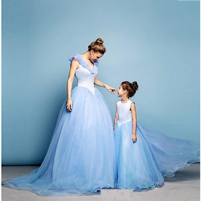 Online buy wholesale amazing daughter from china amazing for Mother daughter dresses for weddings