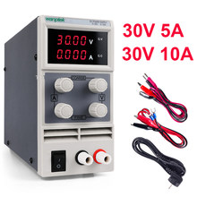 DC Lab Power Supply Unit 30V 10A LED Display Adjustable Switching Laptop Repair Rework Power Supplies Sourc 120V 60V 10A 5A 3A(China)