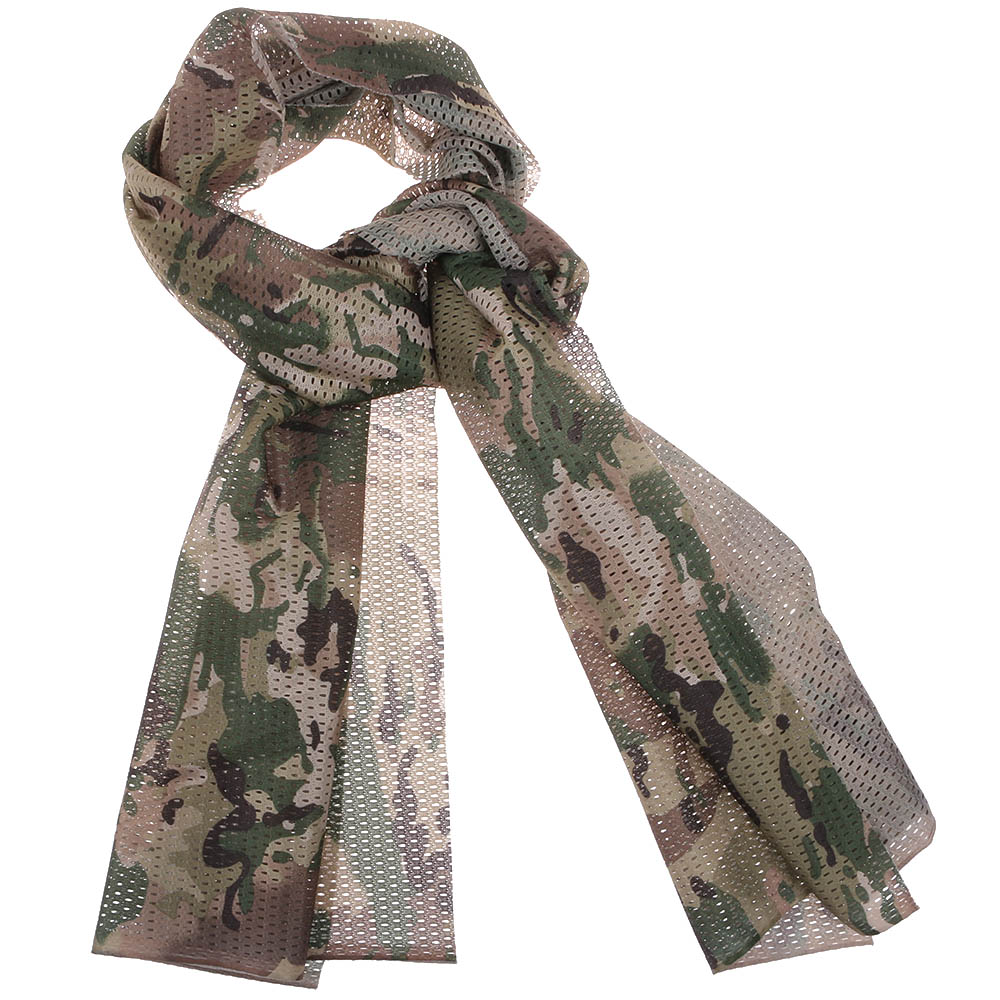 New Face Veil Fast Dry Mask Wargame Military Scarf Cycling Camouflage Scarves