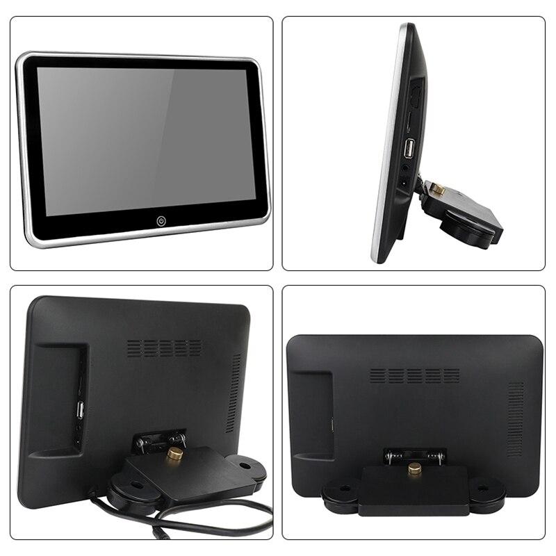 10 1 Inch Car Headrest Player Fm Bluetooth Portable Press Screen Monitor  For Car Kids