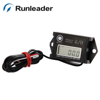 Free Shipping China Factory Cheap Run Leader Tiny Tach Hour Meter Tachometer For Gasoline Engine 2