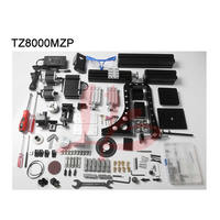 60W Mini Metal 8 In 1 With Bow Arm diy milling grinding machine childs' toy or Intellectual development tool