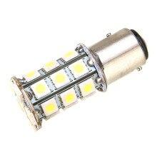 цена на 1PC White 1157 BAY15D Car Reverse Light P21/5W 5050 27 LED Auto Tail Brake Backup Light Bulb Car Turn Signal Parking Lamp