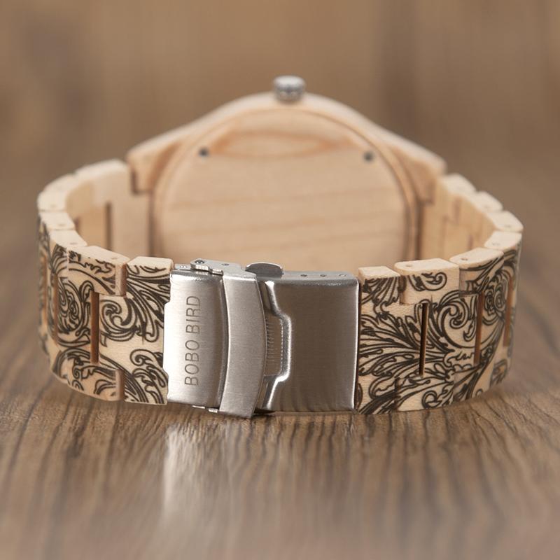 wooden watches bobo bird brand watch men new (9)