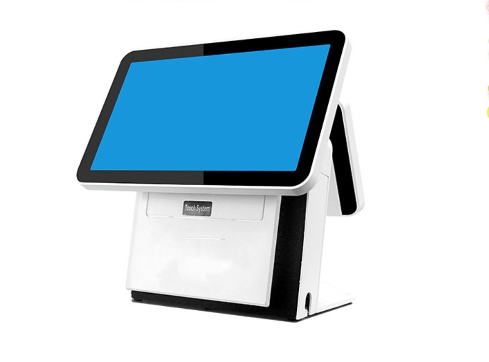 "15.6"" Dual Screen All-in-one Touch POS,10 Points Capacitive Touch POS"
