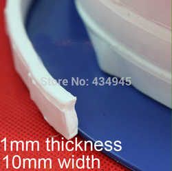 1 мм Толщина 10 мм ширины ptfe Thera-band F4 эластичные петли polytef уплотнительный ремень уплотнительная лента расширенное соединение из ПТФЭ гермети...