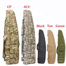 Tactical 70cm/98cm/118cm Heavy Gun Carry Bag Army Airsoft Rifle Gun Case Shoulder Pouch Outdoor Military Shooting Hunting Bags tactical soft gun bag black heavy duty tactical shotgun rifle case shoulder pouch carbine bag shooting gun carry case