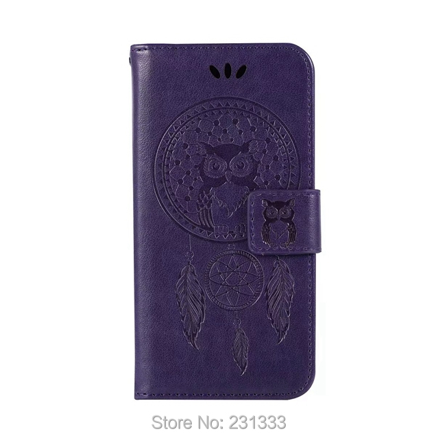 C-ku OWL Wallet PU Leather Pouch Case For Samsung Galaxy Xcover 4 A7 2018 A5 J5 J7 For NOKIA 2 9 8 TPU Stand ID Card Cover 1pcs
