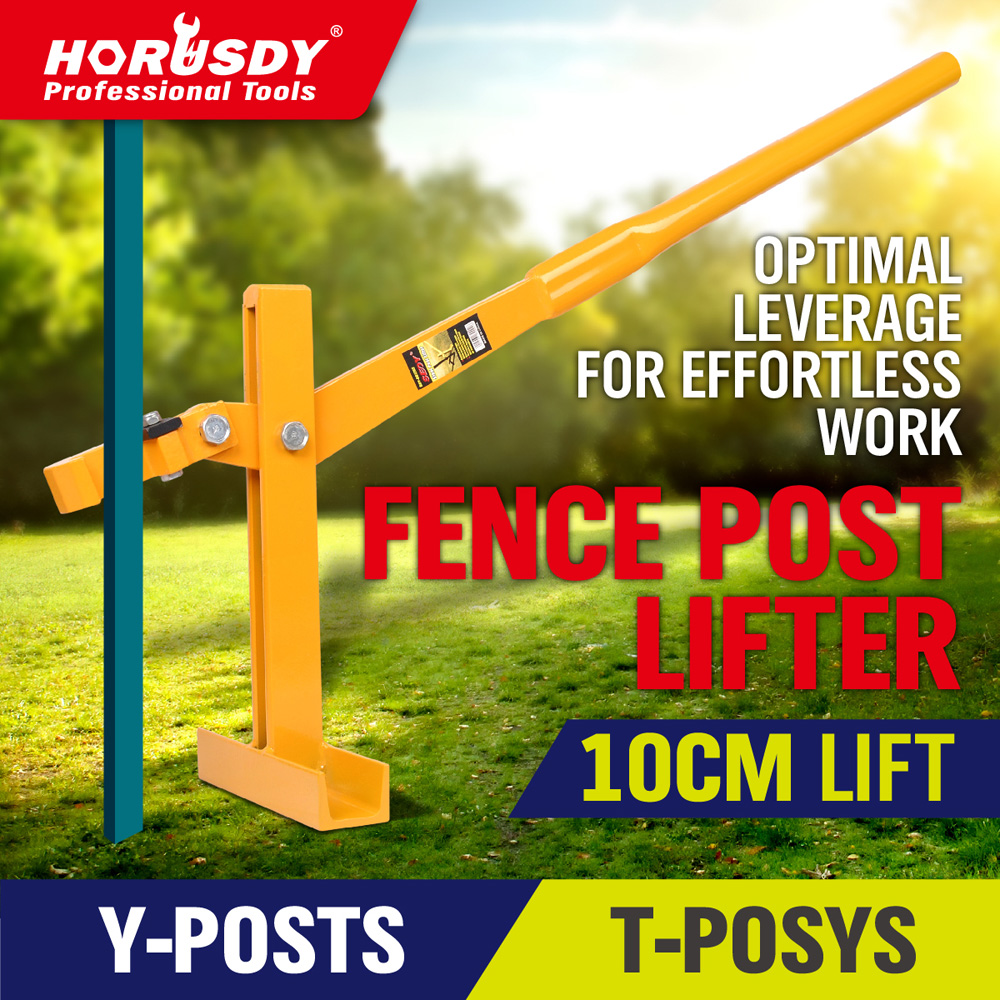 NEW STAR PICKET REMOVER PULLER FENCE POST LIFTER FENCING STEEL POLE TOOL blue wave 18 ft x 40 ft 12yr mesh safety green