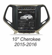 Otojeta Vertical 10.4″ Quad Core Android 6.0 2gb ram Car DVD GPS player For JEEP Cherokee 2014-2016 Multimedia stereo headunit