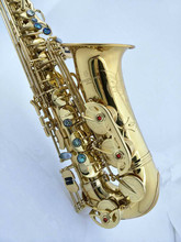 Sax instruments alto saxophone new A-992 Gold Free Shipping