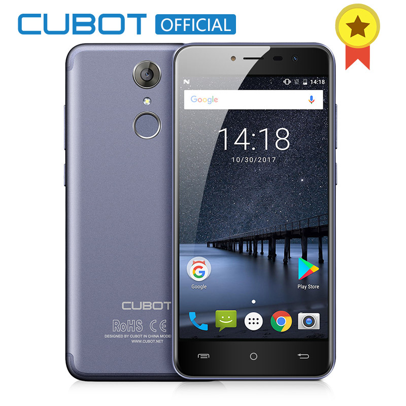 Cubot Note Plus Android 7.0 3GB RAM 32GB ROM 5.2 FHD MT6737T Quad Core Smartphone 16MP 2800 mAh Fingerprint Cellphone