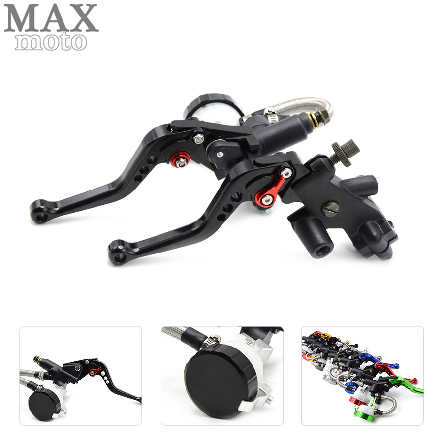 free shipping motorcycle CNC Aluminum Adjustable brake clutch lever& brake pump For BMW S1000RR 2015 2016 S1000R 2015 2016 free shipping motorcycle moped scooter cnc brake lever front