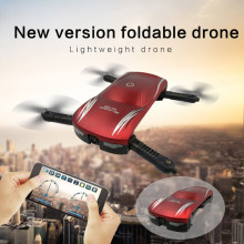 2017 fashion  X185 Altitude Hold HD Camera Selfie Foldable WIFI FPV RC Quadcopter Pocket Drone best gift  A# DROPSHIPPING