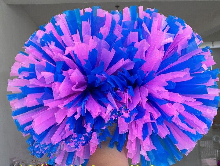 32CM Yüksək keyfiyyətli oyun pompoms Ucuz praktik cheerleading - Komanda idman növləri - Fotoqrafiya 5