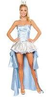 Queen Cosplay Princess Costume Carnaval Halloween Costumes Jumpsuit Dress Cosplay