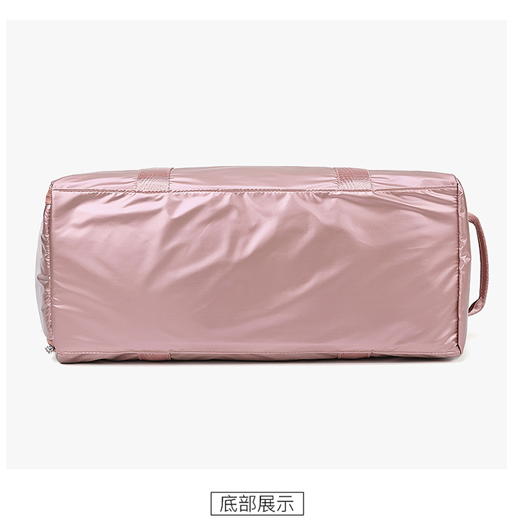 cheap waterproof oxford Women Gym Bag with Shoes Compartment for Sports Swim Travel fitness Duffels Pink men sports bags
