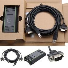 USB кабель PC адаптер для Siemens S7-200/300/400 PLC RS485 Profibus MPI PPI 9pin связь Замена Siemens 6ES7972-0CB20-0XA0