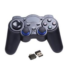 Универсальный 2.4 Г Беспроводная Игры Геймпад Джойстик для Android TV Box Планшетный ПК для Android 2.3 для Windows 8/7/XP Площадку