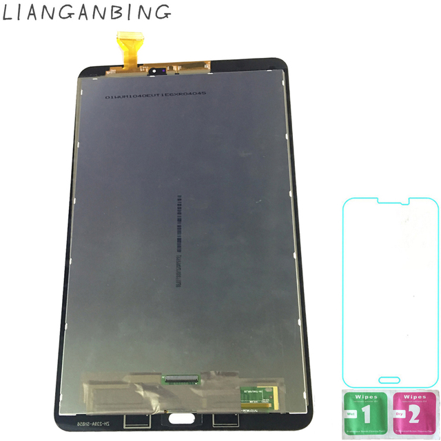 New 100% LCD Tab A 10.1 T580 T585 SM-T580 Display Touch Screen Digitizer Sensors Assembly Panel Replacement For Samsung Galaxy