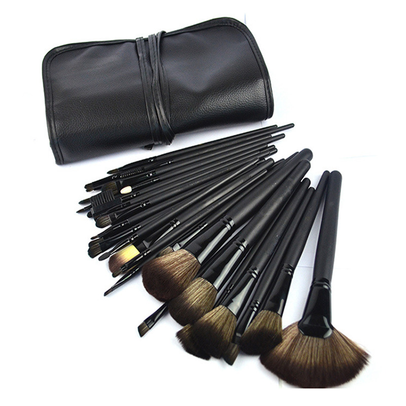 Make Up Brushes 32 Pcs Makeup Brushes Professional Superior Soft Cosmetic Brush Set Kit Tools Pincel Maquiagem + Pouch Bag Case 4 pcs golden professional makeup brushes waistline sculpting brush set cosmetic tool maquiagem accessories with original box