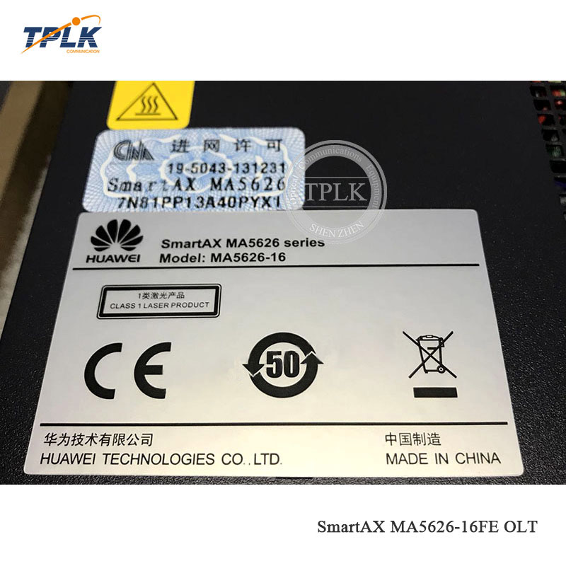 HW SmartAX MA5626-16FE-AC 16 порты ethernet FTTH GPON EPON OLT шасси, для 16 портов ethernet применяются