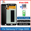 AAA Quality Original Super AMOLED Screen For Samsung Galaxy S7 Edge LCD Display G935F G935FD Assembly