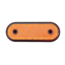 1Pcs 20LED Side Marker Light 24V Car Rear Clearance Lamp for Truck Trailer Lorry RV Pickup Red Yellow White