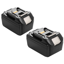 2x 18V 6 0AH Battery For Makita BL1860 BL1840 BL1830 BL1815 LXT Lithium Ion