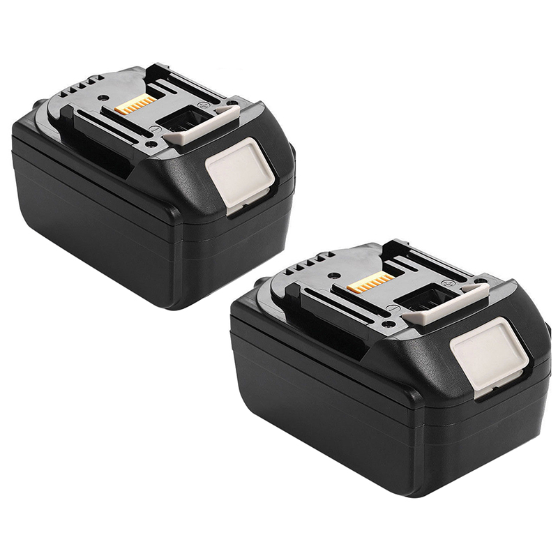 2x 18V 6 0AH font b Battery b font For Makita BL1860 BL1840 BL1830 BL1815 LXT