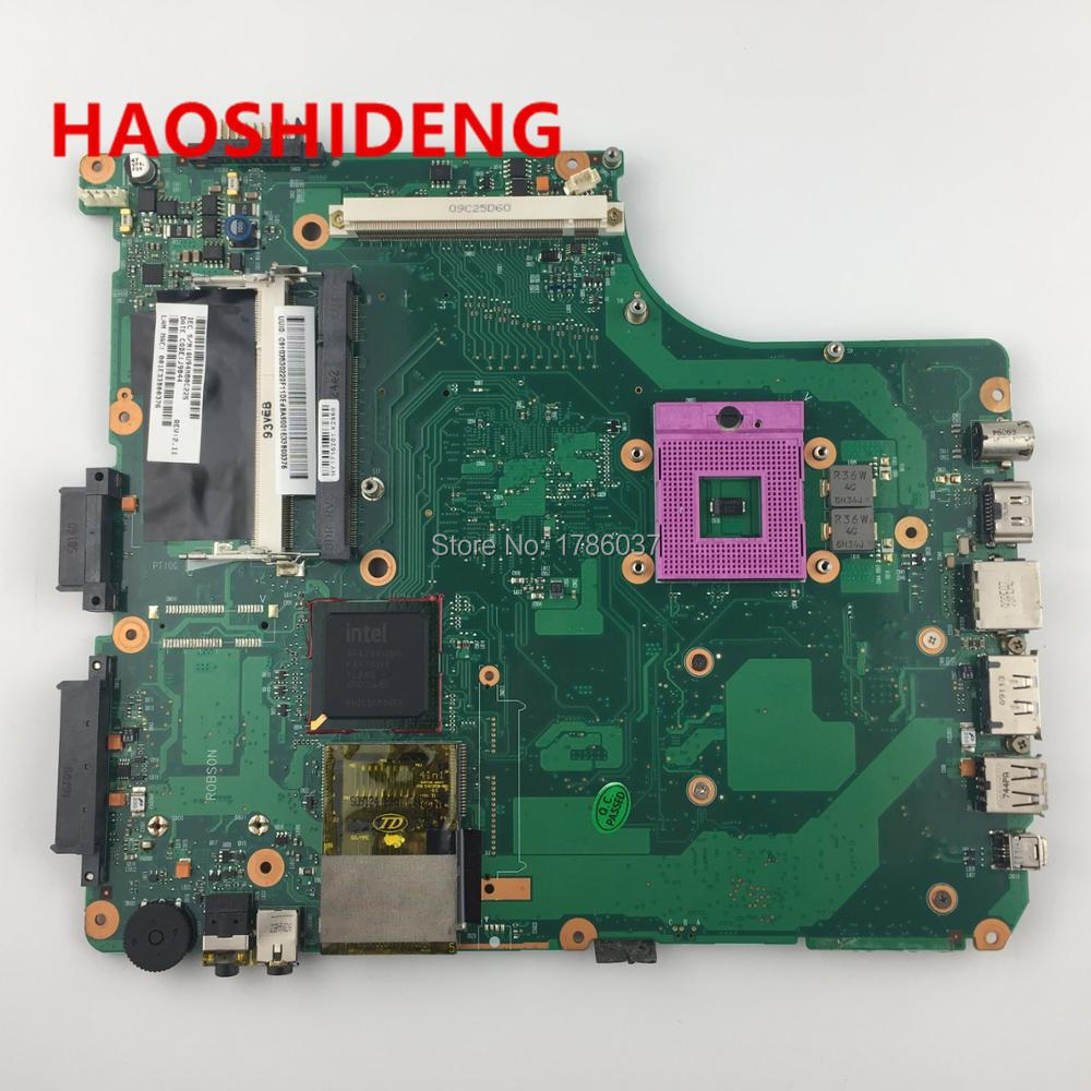 V000126450  for Toshiba Satellite A300  A305 series motherboard .All functions fully Tested ! v000138700 motherboard for toshiba satellite l300 l305 6050a2264901 tested good