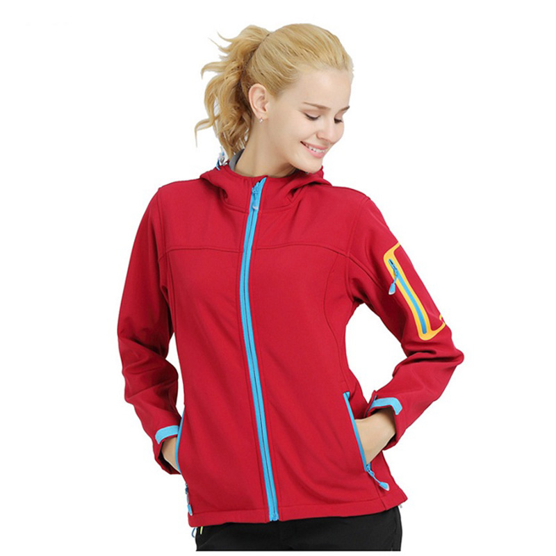 Printemps automne Sports imperméables randonnée vestes en plein air femmes polaire Softshell veste imperméable manteau Camping coupe-vent manteau