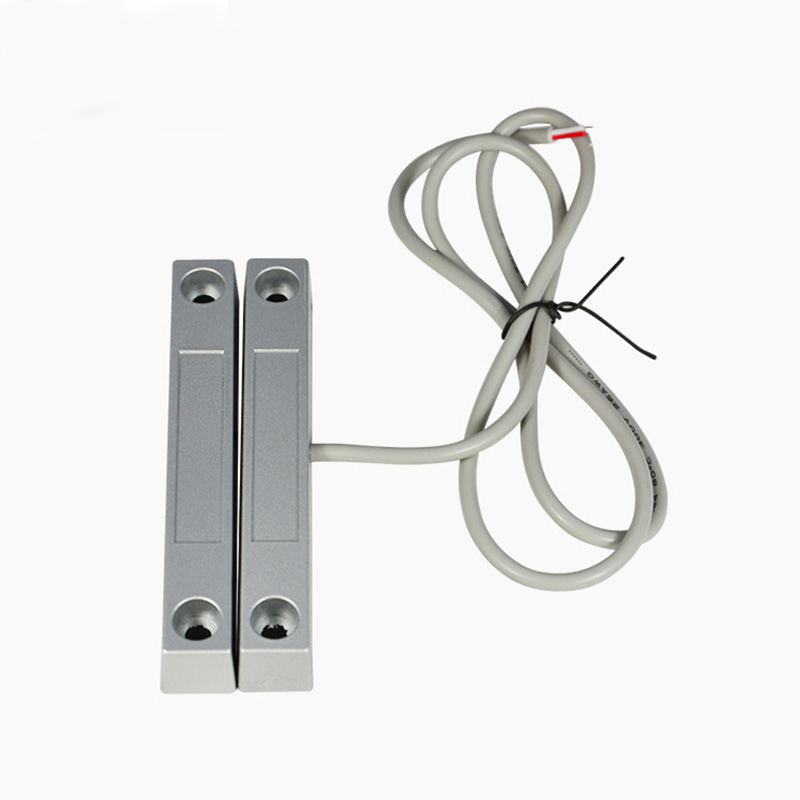 5Pair Wire 58 Metal Roll Door Sensor Magnetic Contact Reed Switch For Home Alarm