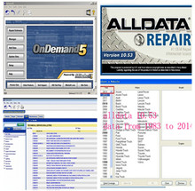 Best quality 2016 Alldata v10.53 + Mitchell on demand software 2015 all data auto repair software with 1000GB HDD lowest price(China (Mainland))