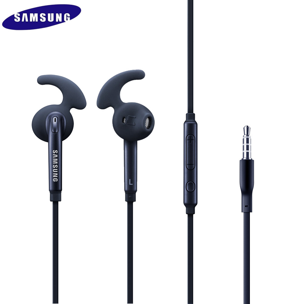 Samsung Earphone 3.5mm Wired Headset Mic&Remote Volume Control Stereo Sport Earbud For Samsung Galaxy S7 S7edge S8 S9 S9 PLUS