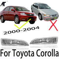 High Quality Front Fog Light For Toyota Corolla 2000 2001 2002 2003 2004 Clear fog Lamp Replacement Driving light