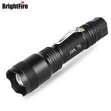 Powerful flashlight Torch CREE XML-T6 5 Modes Tactical LED mini Flashlights for bicycle Small led Lights Lantern for Bike Camp