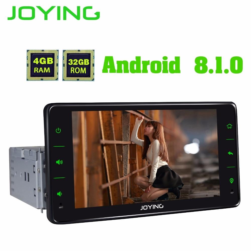 JOYING Android 8.1 6.2 Universal 4 GB Autoradio Support Android auto/Rapide boot/Carplay/Split écran construit en DSP Stéréo lecteur