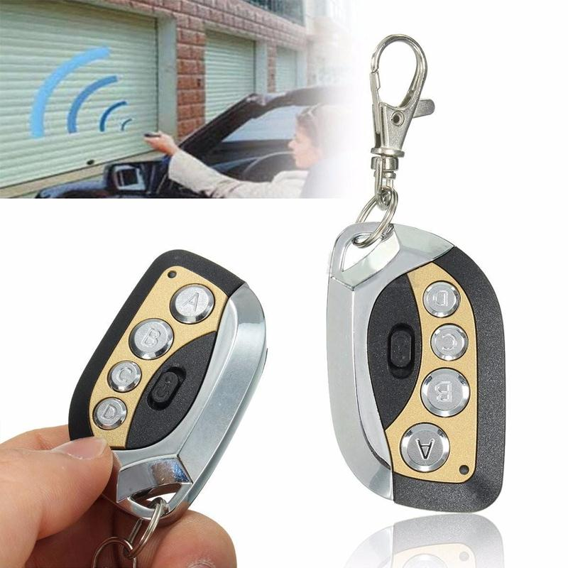 Beautiful Garage Door Opener Remote Keychain Mhz Control Car Electric Key Fob And Decor