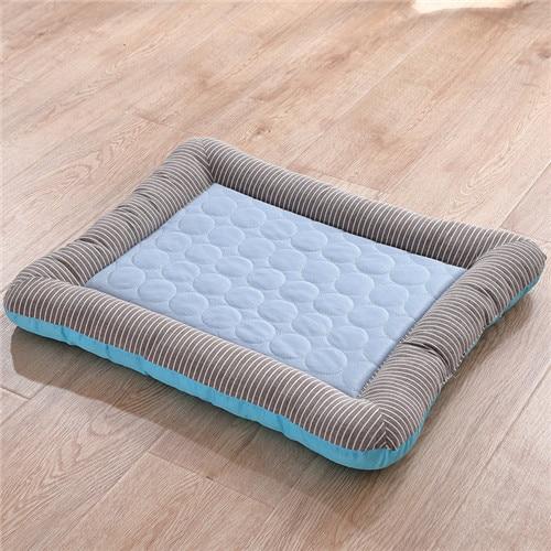 Comfort hondenbed - Met koude zijde koeling voor de zomer kleur roze 2