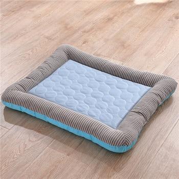 Comfort hondenbed - Met koude zijde koeling voor de zomer kleur blauw 1